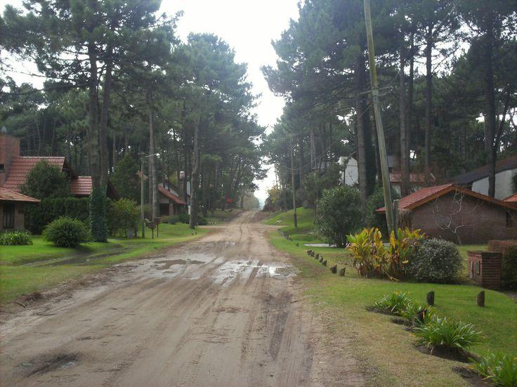 calles de Pinamar, Costa Atlantica Argentina