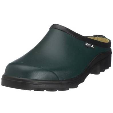 Best Gardening Wellies: Discover the Top 10 for Men and Women | Aigle Womens Clog clogs & Mules | They are waterproof, comfortable, and lightweight. Created for the farming man, these boots are short (so cut off) to allow for full movement while working as they protect your feet from the cold and mud...| #wellies  #bellies #fellies  #jellies #kellies  #nellies   #wellies #UK #waterproof # sea #fishing #wonderfulwellies #snow #ice #farmer #men #gardening #women | www.wonderfulwellies.co.uk
