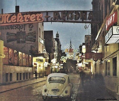 grosse Freiheit, Hamburg in den 60ern