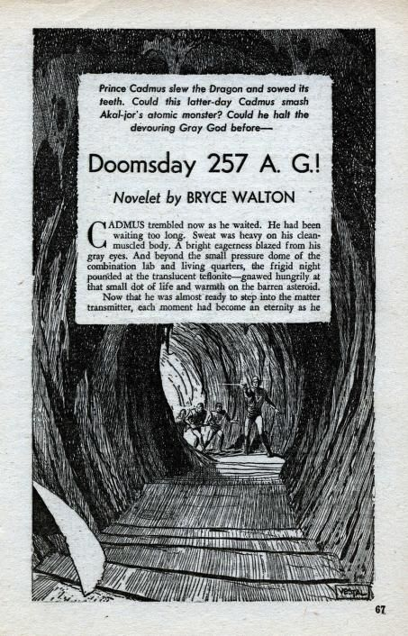 Herman Vestal Doomsday 257 Ag By Bryce Walton Planet Stories