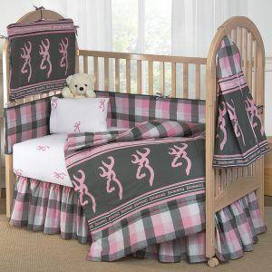 Blue Camo Baby Bedding Crib Sets