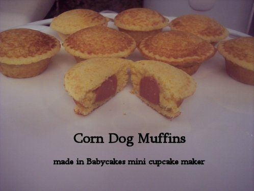 Corn dog muffins, Corn dogs and Muffins on Pinterest