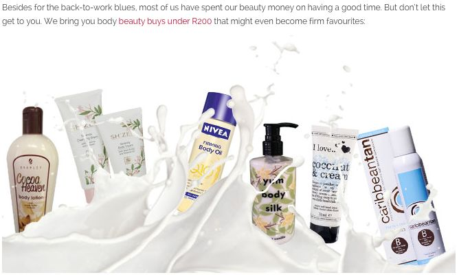 Sh'Zen Serenity Body Wash and Cream spotted on the BeautySA website as a AWESOME budget buy http://bit.ly/1mwaZxY