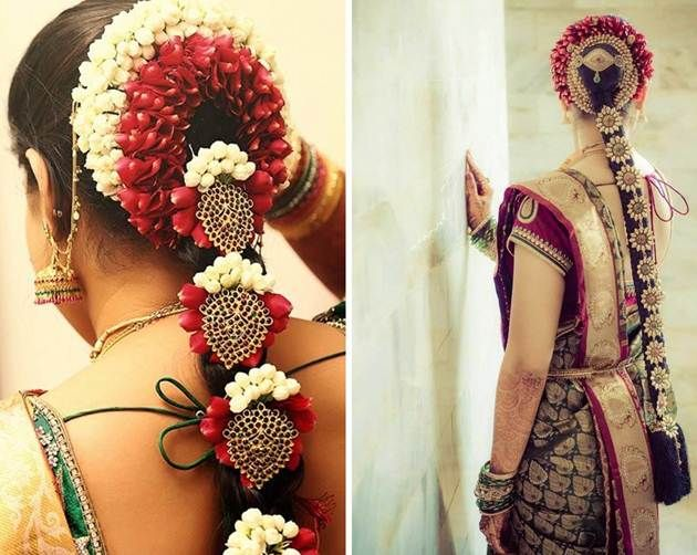 South Indian bride. Temple jewelry.silk kanchipuram sari.Braid with fresh flowers. Tamil bride. Telugu bride. Kannada bride. Hindu bride. Malayalee bride.