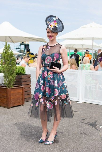 Best Dressed At Caulfield Cup 2015 Spring Carnival - Image 2