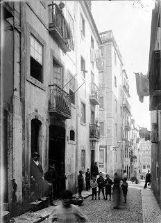 Travessa da Espera, Bairro Alto - c.1900