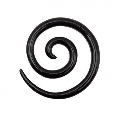 Ecarteur spirale Acrylique noir https://piercing-pure.fr/p/433-ecarteur-spirale-acrylique-noir.html #spirale #spiral #piercing #piercingecarteur #ecarteur #plug #piercingplug #piercingspirale