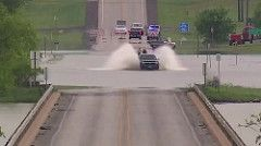 Truck Owner Thinks He Can Cross Flooded Road http://www.youtube.com/watch?v=MAeanXWkbWc