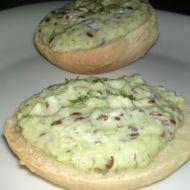 Fotografie receptu: Jogurtová cuketová pomazánka s lněnými semínky