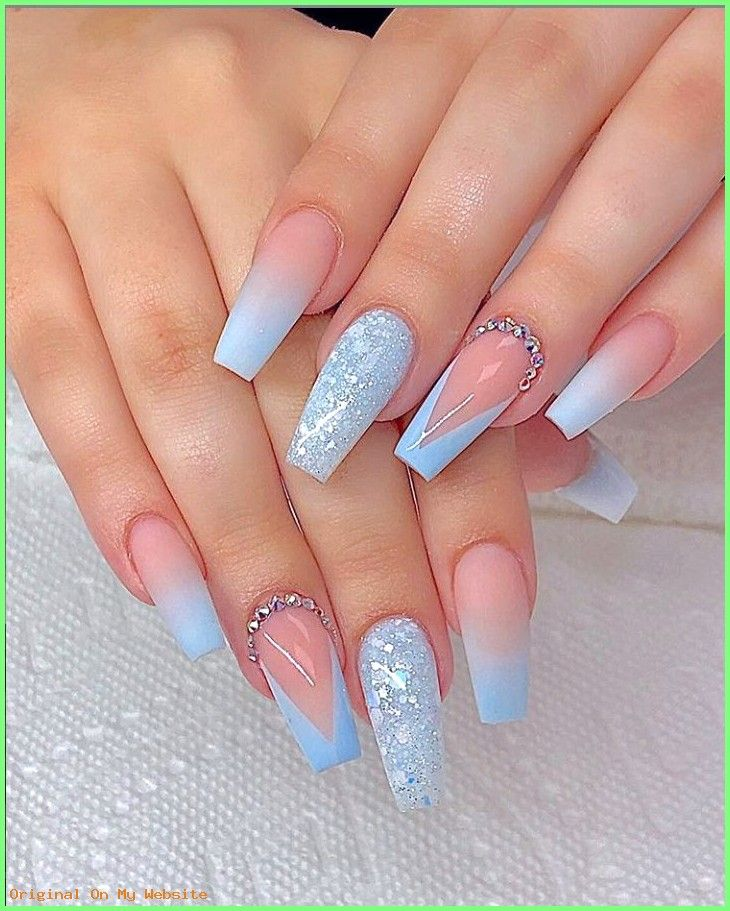 Summer Nails Designs 2019 78 Hottest Classy Acrylic Coffin Nails Long Designs For Summer Nai Blue Acrylic Nails Coffin Nails Long Coffin Nails Designs