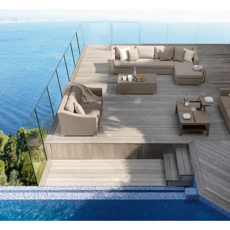 Chic Sectional, Contemporary Outdoor Furniture Design At Cassoni.com