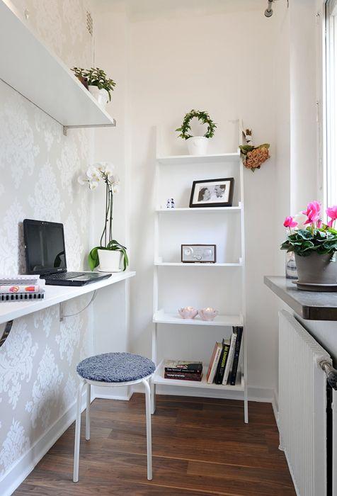Idea for a studio apartment kitchen.