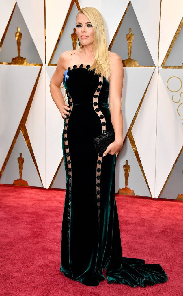 Busy Philipps from Oscars 2017: Best Dressed Women  This boundary-pushing velvet gown is stunning and bold!