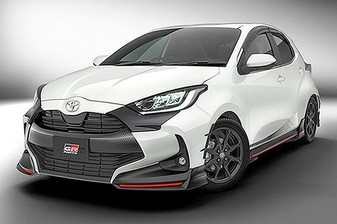 The new Toyota Yaris TRD 2020 filters its first image on social networks