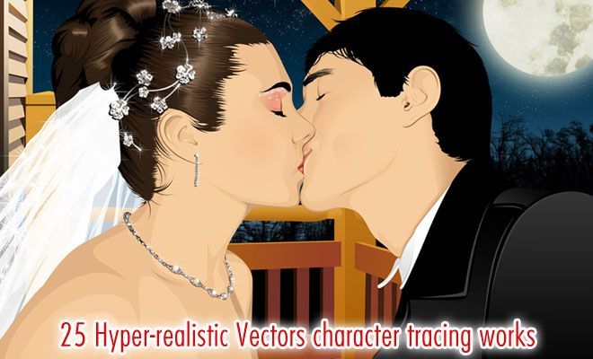 25 Stunning and Realistic Vector Character Tracing Works by Jorge Packer. Follow us www.pinterest.com/webneel