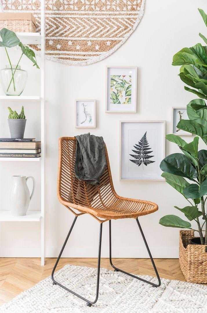 Lehrstuhl Ko Lanta   – Natural Living – So funktioniert Urban Jungle Interior