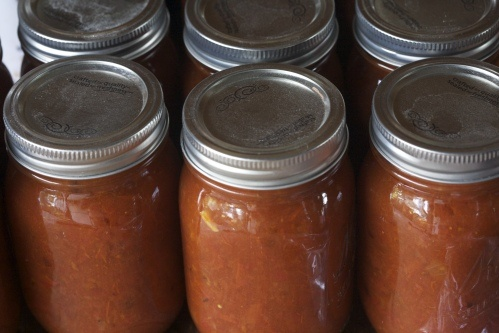 How to Preserve 100+ lbs. of Tomatoes With Almost No Work: Tomatoes Sauces, Maine Crop, Canning Tomatoes, 100 Lbs, Preserves Tomatoes, Favorite Recipe, No Work, Preserves 100, Preseserv 100