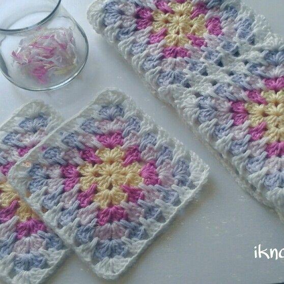 #knitt #crochet #blanket #handmade #ikndesign #battaniye #motif #tigisi
