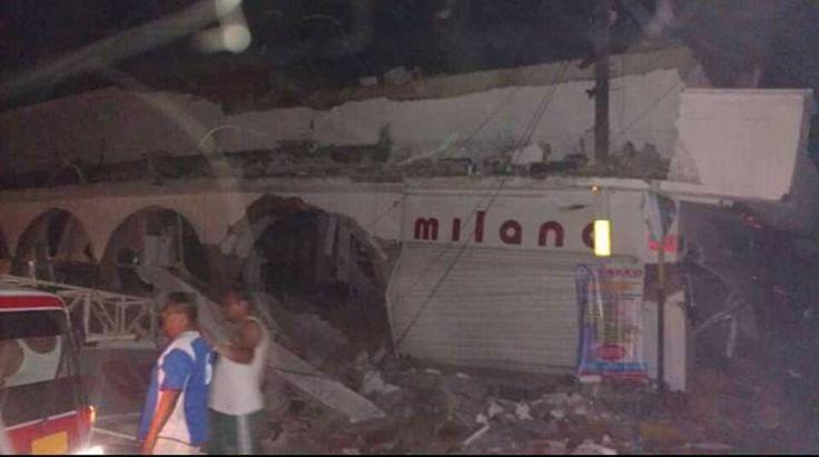 ] TUXTLA GUTIÉRREZ, Chis. * 08 de septiembre de 2017. Efe Un fuerte sismo de magnitud 8,2 en la escala abierta de Richter sacudió la madrugada de este viernes violentamente la Ciudad de México, con origen a 137 kilómetros al suroeste de Tonalá, en el suroriental estado de Chiapas, según ha...