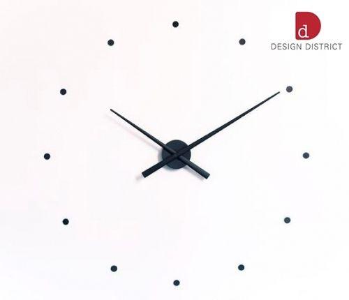 Nástěnné hodiny OJ 80 cm černé, Nomon