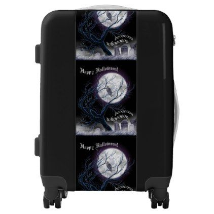 #Who Halloween Luggage - #custom #luggage #suitcase #suitcases #bags #trunk #trunks