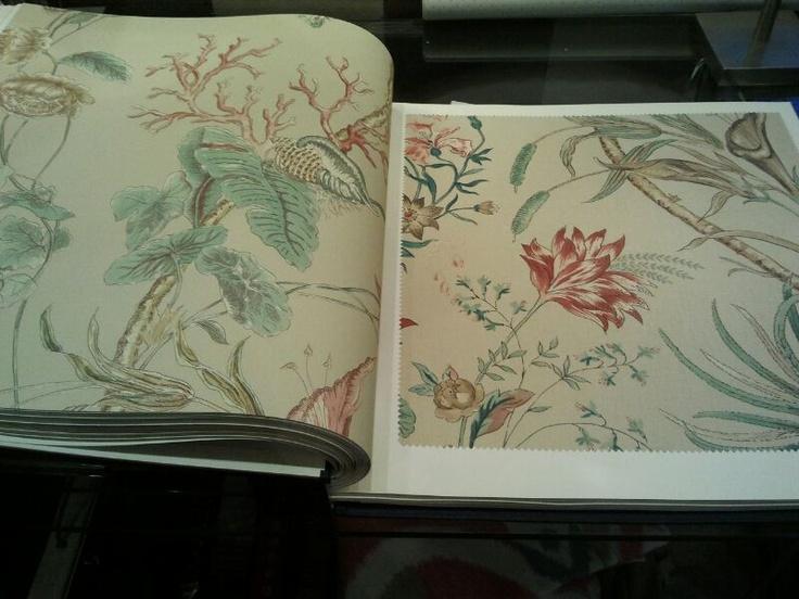 M s de 1000 im genes sobre telas y papel pintado a juego for Papel para tapizar paredes