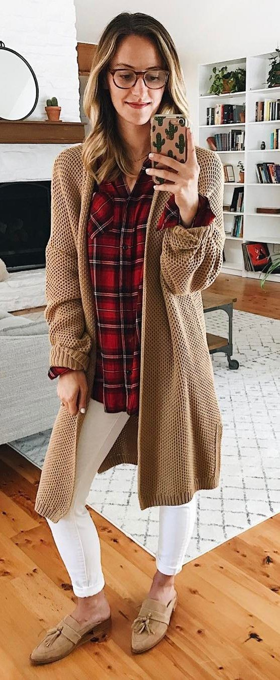 The 25  best Brown cardigan ideas on Pinterest | Cardigan outfits ...
