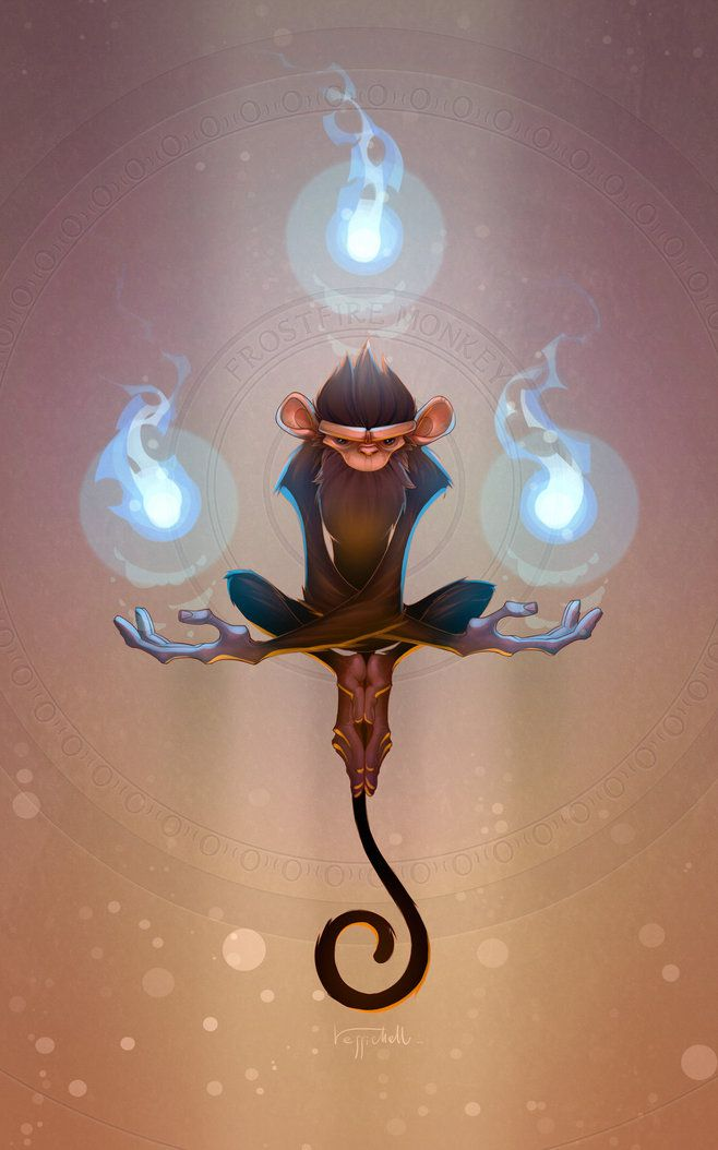 Frostfire Monkey by ... More