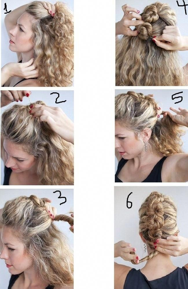 Perfect Party Hairstyles For Long Hair Easy At Home Step By Step 2 Hairstyles Part Party Hairstyles For Long Hair Curly Hair Styles Easy Easy Hairstyles