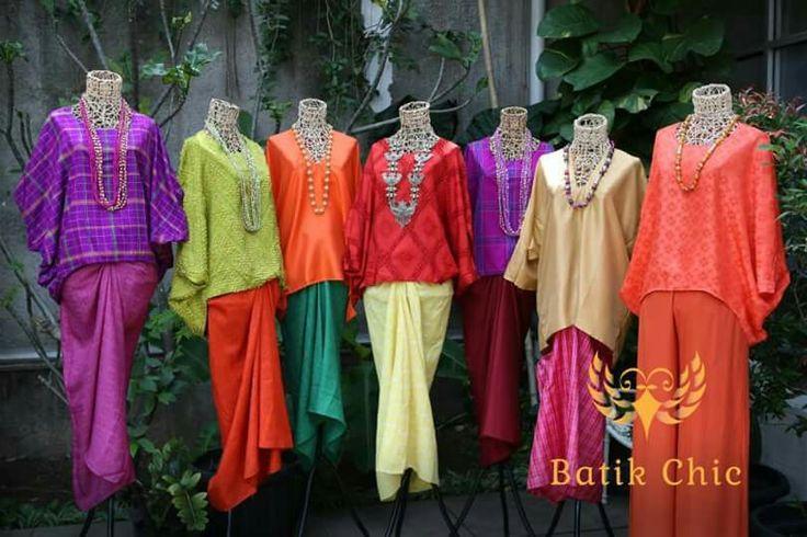 Batik chic kaftan