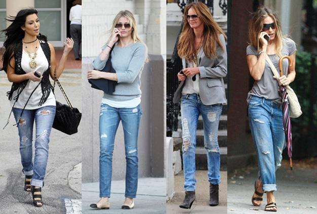 Какие джинсы носить этой осенью