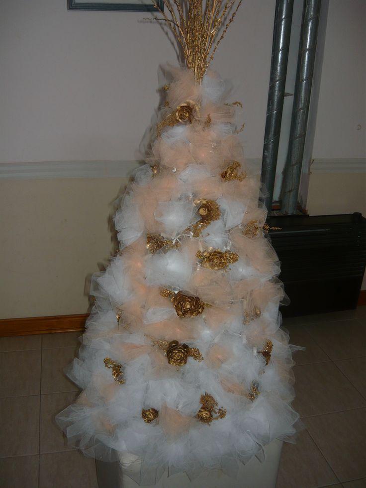 1000 ideas sobre rboles de navidad de tul en pinterest - Ver arboles de navidad ...