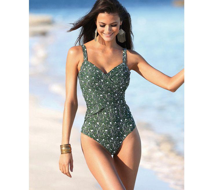 Jednodílné plavky pro ploché bříško | modino.cz #ModinoCZ #modino_cz #modino_style #style #fashion #sport #fitness #sportswear