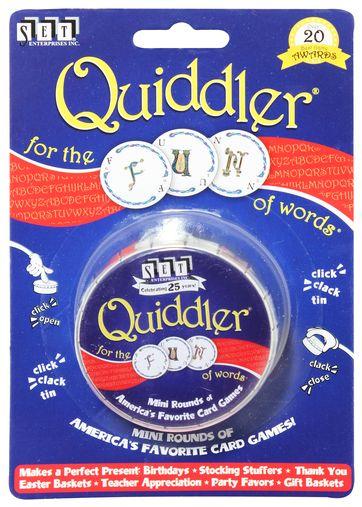 Quiddler Mini Tin - Card