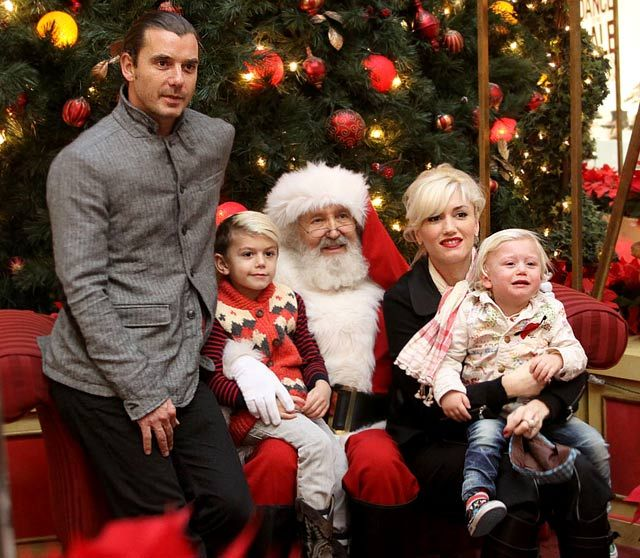 A Rossdale/Stefani Christmas!