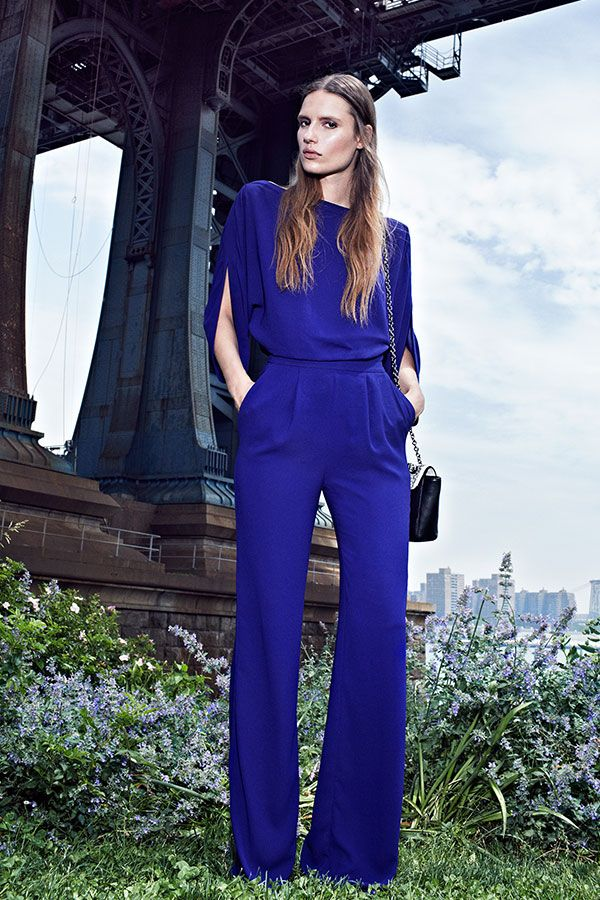 Your sweet and stylish jumpsuit by DVF.