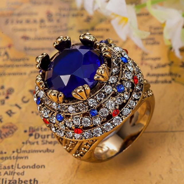Royal Sapphire Blue Anel For Men Colar Masculino Turkey Turkish Jewelry Best Women's Vintage Aneis African Costume Jewelry Rings Like it?Visit our store ---> http://www.jewelryabo.com/product/royal-sapphire-blue-anel-for-men-colar-masculino-turkey-turkish-jewelry-best-womens-vintage-aneis-african-costume-jewelry-rings/ #shop #beauty #Woman's fashion #Products #homemade