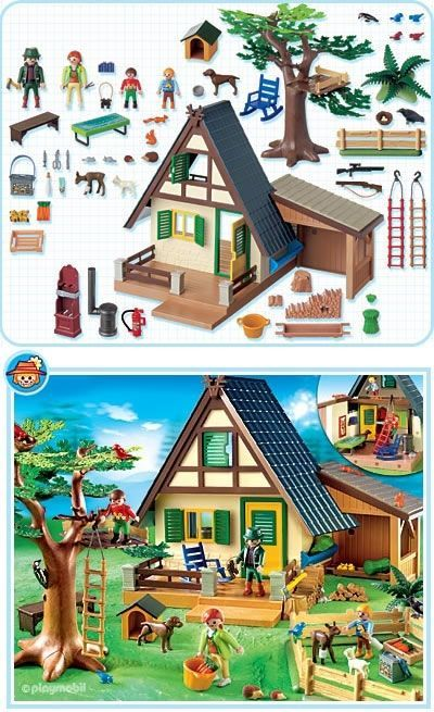 101 best images about playmobil on pinterest toys for Playmobil post