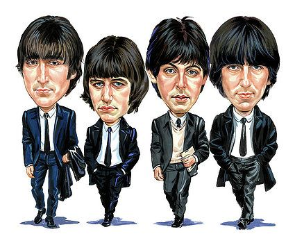 The Beatles by Art