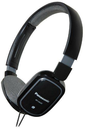 Recommandé mais tissu!Amazon.com: Panasonic RP-HX40 Light Weight On Ear Monitors Headphone (Black) (Discontinued by Manufacturer): Electronics