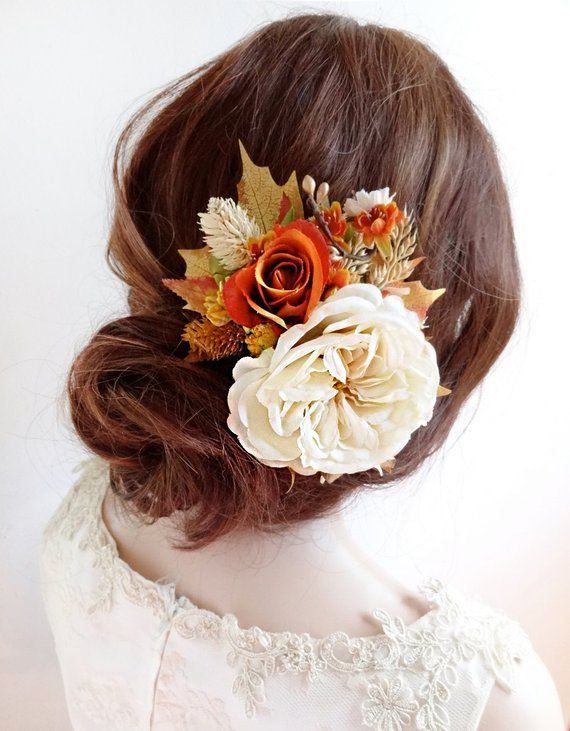 ec416275478 40 Cheerful Fall Orange Wedding Ideas