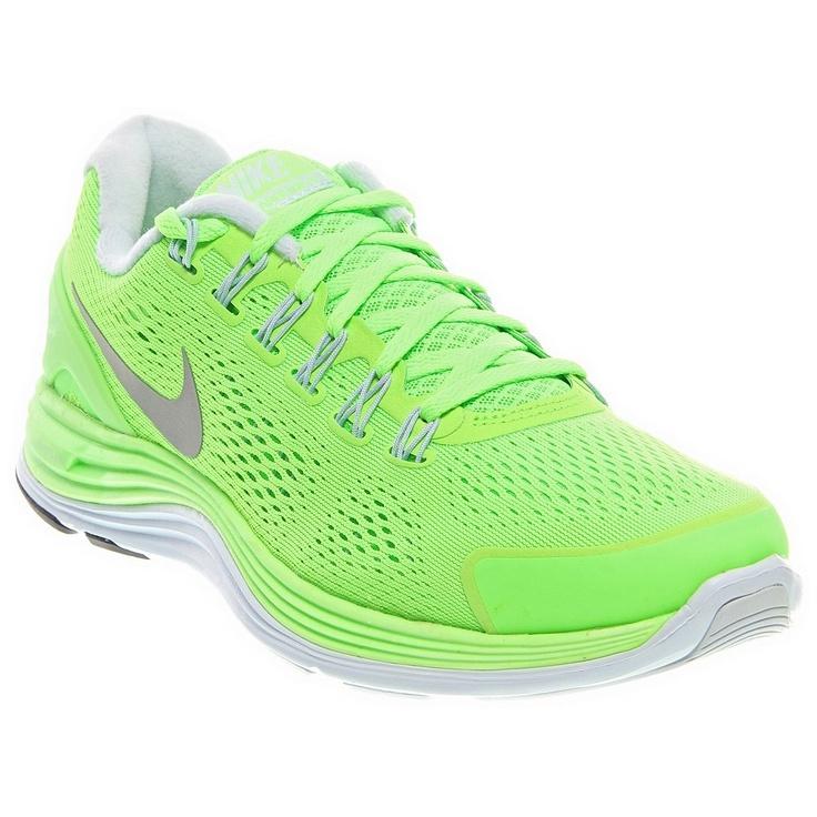 Nike Lunarglide+ 4 - Running Shoes - SHOEBACCA.com #nike #neon