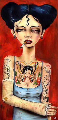 by Brian M. Viveros #Brian_Viveros #Art