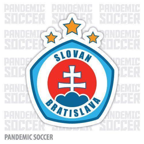 Slovan Bratislava Slovakia Soccer Vinyl Sticker Decal