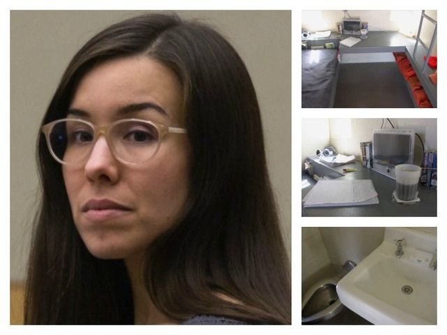 Jodi Arias' life will now fit in a 7 foot x 12 foot cell, a small room where she will have to stay for 23-hours a day. Description from abc15.com. I searched for this on bing.com/images