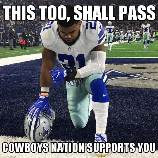 We're with you Zeke!!