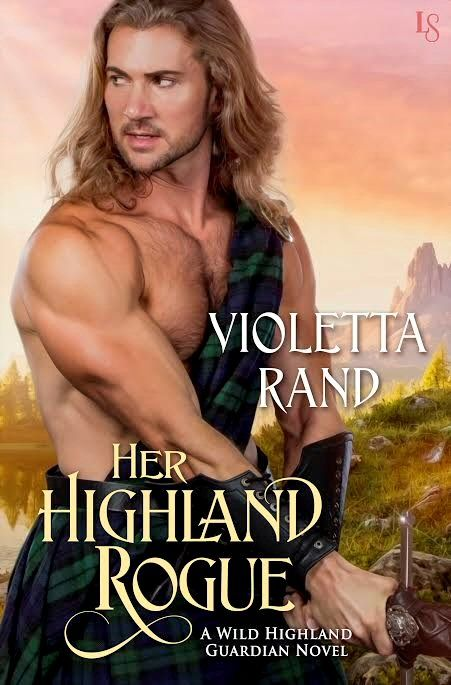 Her Highland Rogue by @ViolettaRand #Giveaway
