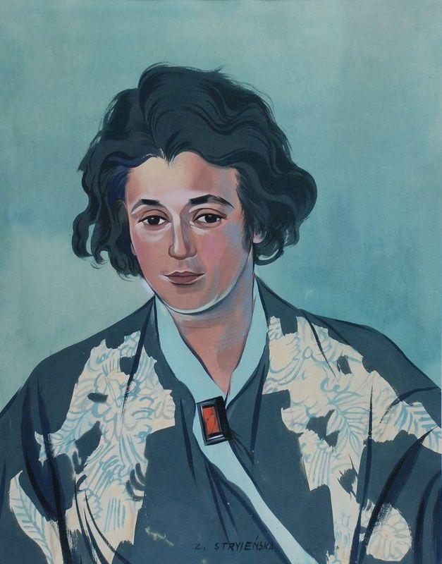 Z.Stryjeńska - autoportret