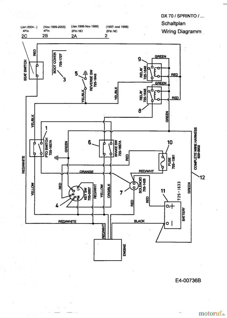 Pin on Tractor Wiring /Repair