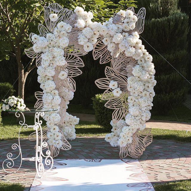 Наша арка в пятницу  Наша невеста Кристина очень хотела такую арку. Благодаря…